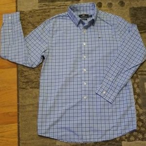 Vineyard vines performance boys dress shirt